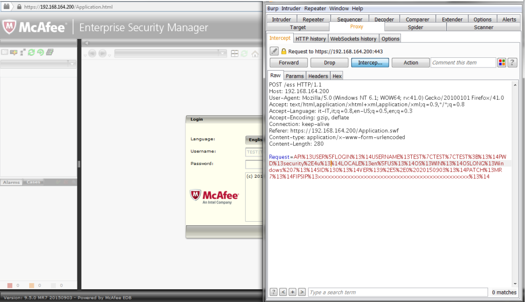 McAfee Authentication Bypass